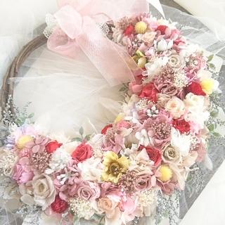 ガーデンウェディング専門店リースブーケヘッドドレスブートニア花冠オーダー承ります(ブーケ)