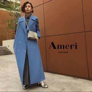 Ameri VINTAGE - Ameri vintage *ロングコート ブルー