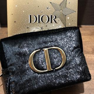 Dior - 2020クリスマス限定品  限定ノベルティポーチ 新品未使用