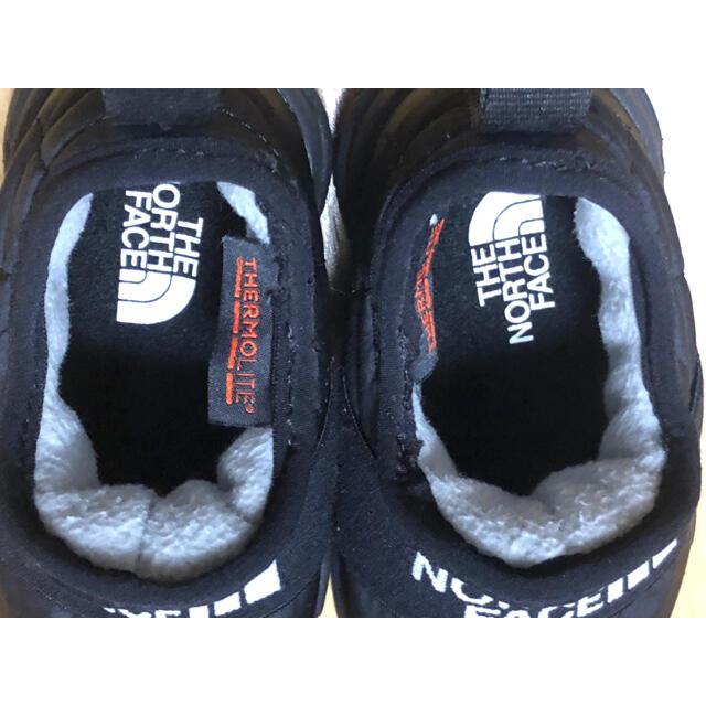THE NORTH FACE(ザノースフェイス)のノースフェイス キッズ ヌプシトラクション ライトモック NFJ51889 キッズ/ベビー/マタニティのベビー靴/シューズ(~14cm)(スニーカー)の商品写真