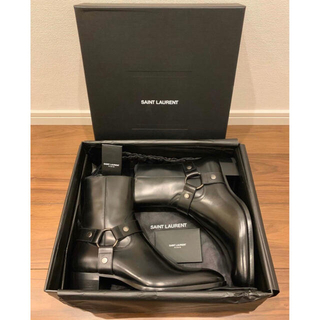 Saint Laurent - 【SAINT LAURENT】Wyatt Harness Boots 41.5
