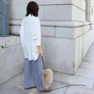 マチャット  スタンドカラーオーバーシャツ 白 新品未使用