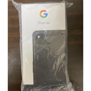 ANDROID - 新品未使用 Google Pixel 4a  128GB SIMフリー