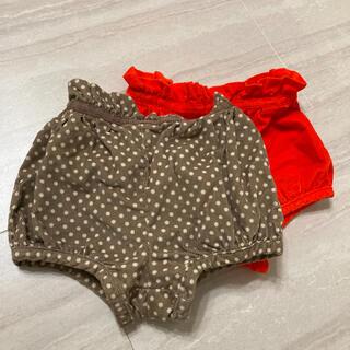 ベビーギャップ(babyGAP)のbabyGAP  かぼちゃパンツ 2着セット(パンツ)