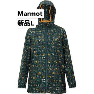 マーモット(MARMOT)の最終処分 新品L マーモット レディース ボーナスウィンドジャケット アウトドア(登山用品)
