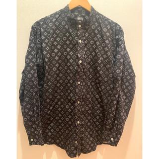 STUSSY - 90年代 OLD STUSSY ステューシー ヴィトンモノグラム柄 長袖シャツ