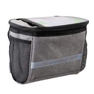 自転車フロントバッグ 大容量自転車用バッグ 防水 携帯電話ホルダー(バッグ)