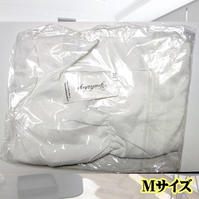 ブラウス フリルブラウス パフスリーブ Tシャツ 白 Lサイズ 半袖 韓国 レディースのトップス(シャツ/ブラウス(半袖/袖なし))の商品写真