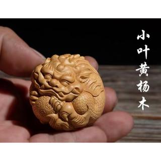 实木彫刻の貔貅の工芸品(彫刻/オブジェ)