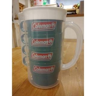 コールマン(Coleman)のColeman プラカップ4脚セット(食器)