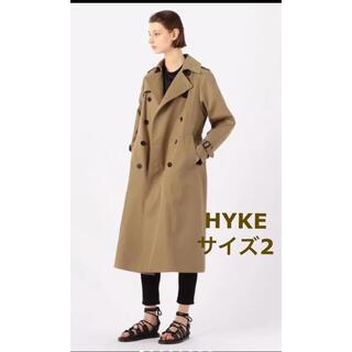 HYKE - HYKE トレンチコート サイズ2