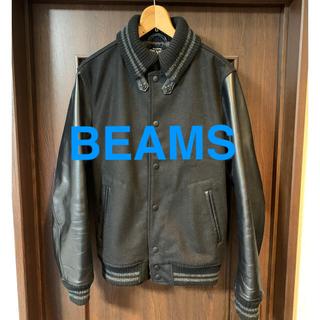 ビームス(BEAMS)のBEAMS スタジャン Lサイズ 本革(スタジャン)