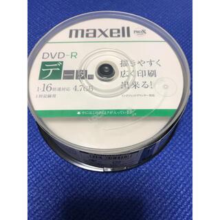 マクセル(maxell)のmaxell データ用 DVD-R 16倍速 20枚 未使用(PC周辺機器)
