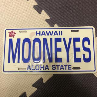 MOON EYES デザインプレート Hawaii