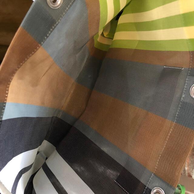 Marni(マルニ)の新品未使用 マルニ ストライプバック Marni ソフトベージュ レディースのバッグ(トートバッグ)の商品写真