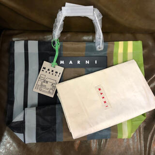 Marni - 新品未使用 マルニ ストライプバック Marni ソフトベージュ