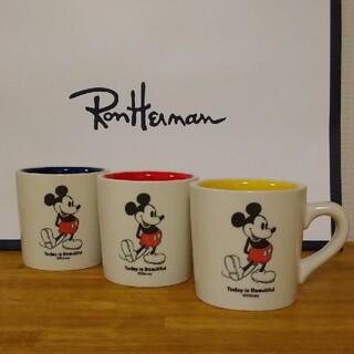 Ron Herman - 【未使用】ロンハーマン 10周年 ミッキー マグカップ