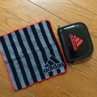 アディダス(adidas)のadidas キッズ財布&ハンドタオル(財布)