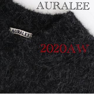 COMOLI - AURALEE ALPACA WOOLSUPERLIGHTKNITBIG P/O