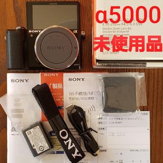 SONY - SONY α5000 未使用品