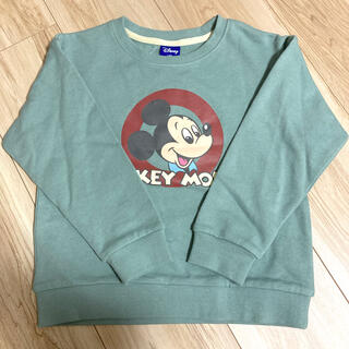 Disney - 【Disney】ミッキーサークルプリントトレーナー*120㎝*
