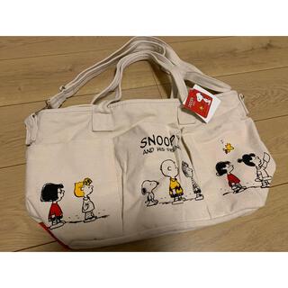 SNOOPY - SNOOPY- ̗̀ ♡  ̖́-キャンバスバッグ