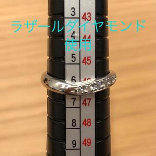 セイコー(SEIKO)のラザールダイヤモンド セイコージュエリー pt900   6号(リング(指輪))