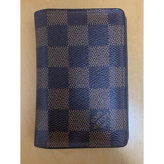 ルイヴィトン(LOUIS VUITTON)のルイヴィトン ダミエ 二つ折り財布 カードケース モノグラム(名刺入れ/定期入れ)
