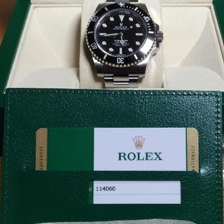 ROLEX - 未使用 ロレックス サブマリーナ ブラック 114060 ROLEX ノンデイト