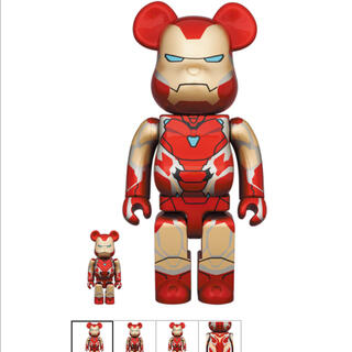 MEDICOM TOY - BE@RBRICK IRON MAN MARK 85 100% & 400%