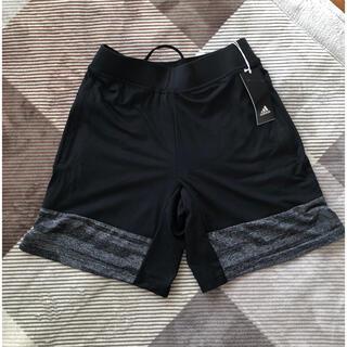 adidas - 【新品未使用】adidas  メンズハーフパンツ  ブラック  サイズM