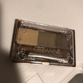 セザンヌケショウヒン(CEZANNE(セザンヌ化粧品))のセザンヌ ノーズ&アイブロウパウダー 03 オリーブ(3g)(パウダーアイブロウ)