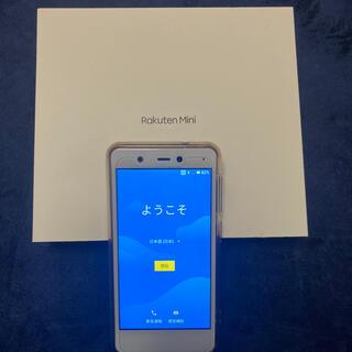 Rakuten - 楽天モバイル RakutenMiniホワイトFeliCa NFCF搭載 送料無料