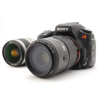 ★ 極上美品 憧れの超望遠300mm!SONY α300  Wレンズキット ★