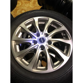 ブリヂストン(BRIDGESTONE)の205/60R16 VRX トヨタ 平面座 トヨタ純正ナット対応  スタッドレス(タイヤ・ホイールセット)