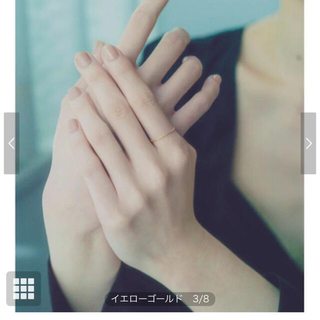 ete - 値下げ!【未使用】ete エテ K18YG ツイストベネチアン チェーンリング