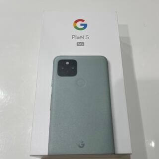 Google pixel 5 128GB SIMロック解除済み 新品未使用(スマートフォン本体)