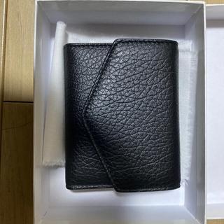 マルタンマルジェラ(Maison Martin Margiela)のメゾンマルジェラ ブラック s56ui0136 p0399 t8013 11(折り財布)