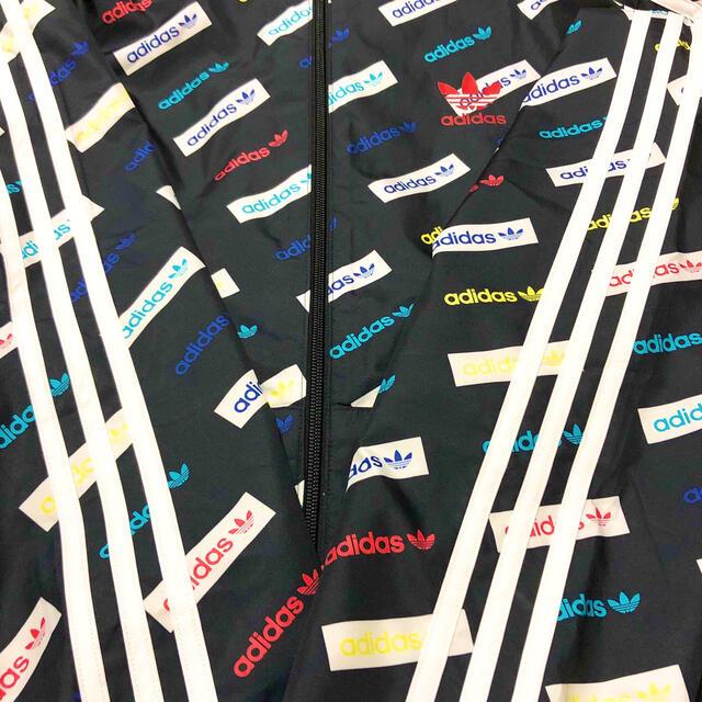 adidas(アディダス)のadidas アディダス ナイロンジャケット パーカー マルチカラー 美品 メンズのジャケット/アウター(ナイロンジャケット)の商品写真