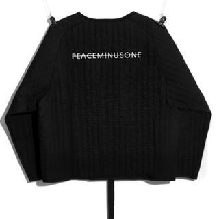 PEACEMINUSONE - peaceminusone PMO PADDED PULLOVER BLACK