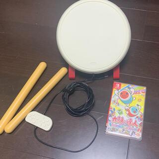 ニンテンドースイッチ(Nintendo Switch)の太鼓の達人 Nintendo Switchば~じょん! ソフトセット(携帯用ゲームソフト)