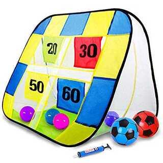 ストラックアウト サッカー ゴール ボール ハンドボール おもちゃ 子供