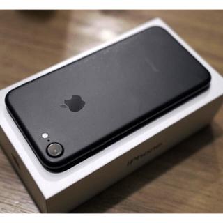 iPhone - iPhone 7 128GB 黒 SIMロック解除済み