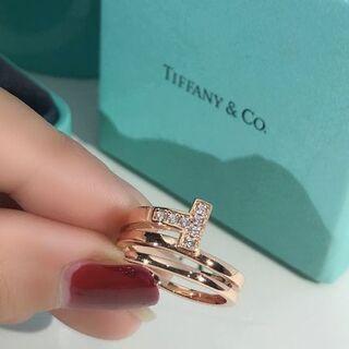 Tiffany & Co. - 正規品 Tiffany 指輪 1 2号