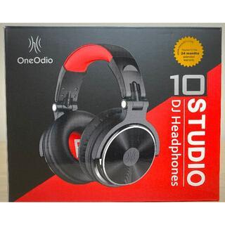 【新品】【送料無料】OneOdio Pro10モニターヘッドホン 有線 マイク付(ヘッドフォン/イヤフォン)