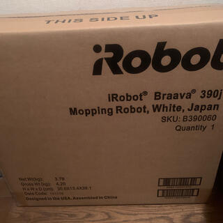 iRobot - ブラーバ390j 新品未開封 braava390j B390060