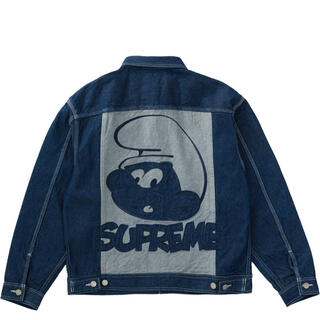 Supreme - supreme smurfs denim jacket