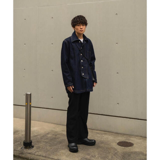 即完売 NAMACHEKO MANNI DENIM OVER SHIRT
