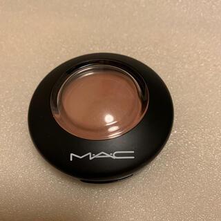MAC - 試し塗り MAC ミネラライズブラッシュ ウォームソウル