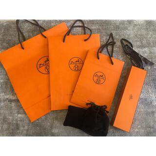 エルメス(Hermes)のエルメス ウォッチ 時計 袋 ジュエリーボックス ショップ袋 クリスマス(ショップ袋)